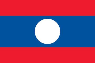 Drapeau-Laos