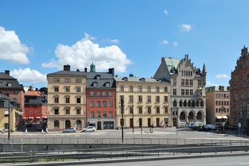 Stockholm, Old Town. Munkbron