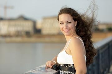 woman outdoor portrait