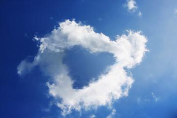 un cuore nelle nuvole