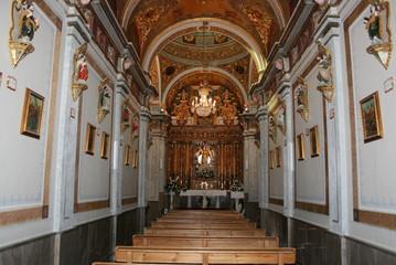 Interior de la ermita de Gabia