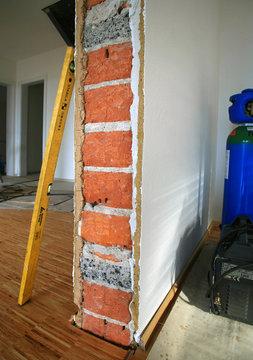 Renovieren mit Mauerwerk