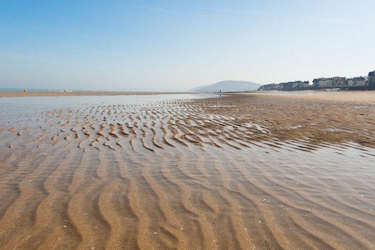 ondulation sur le sable