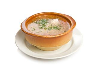 Russian fish soup Ukha