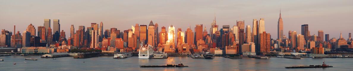Wall Mural - New York City Manhattan skyline panorama