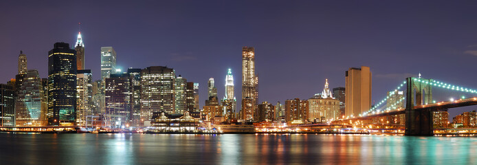 Fototapete - New York City Manhattan skyline