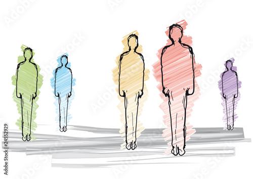Figure Di Persone Stilizzate.Figure Stilizzate Stock Image And Royalty Free Vector Files On