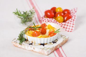 Tomatentarte komplett
