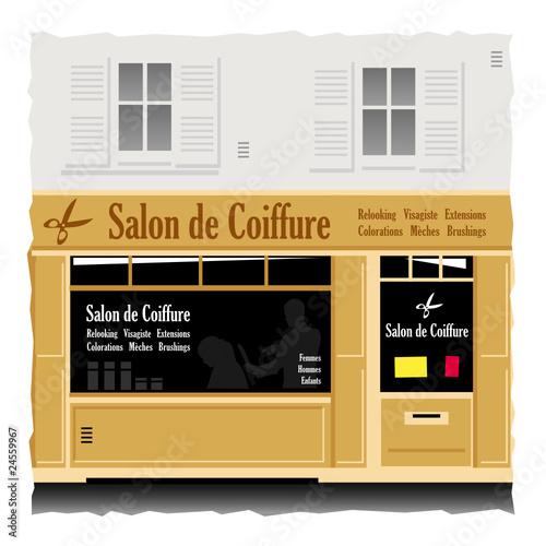 Salon de coiffure fichier vectoriel libre de droits sur for Achat salon de coiffure