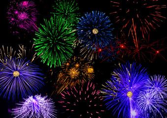 Horizontal Fireworks