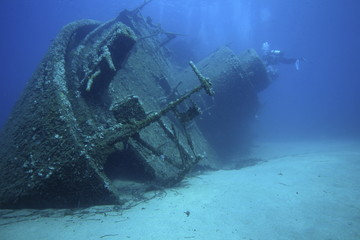 Photo Blinds Shipwreck relitto nave affondata