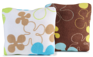 Floral cushions. Isolated
