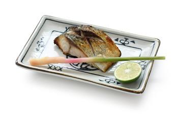 松輪サバの塩焼き