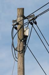Telefon Mast Kabel