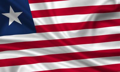 Flag of Liberia Liberien Fahne Flagge