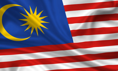 Flag of Malaysia Malaysien Fahne Flagge