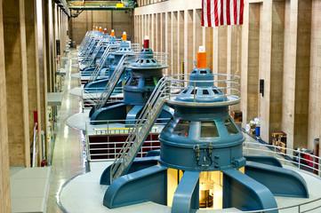 Foto auf Acrylglas Damm Hoover Dam Turbines