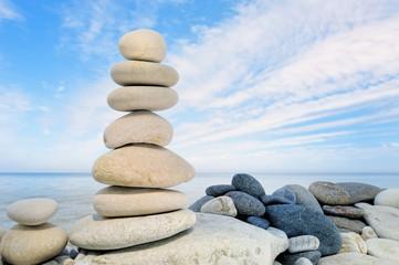 Balancing on coast
