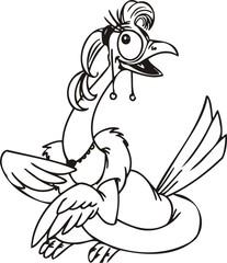 Cool bird.Funny Birds.