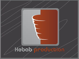 logo vecteur, kebab production