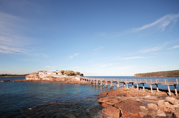 Bear Island. An old navy outpost in Sydney Australia