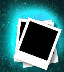 Grunge photo frame  background with space for image