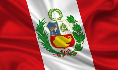 Flag of Peru Fahne Flagge
