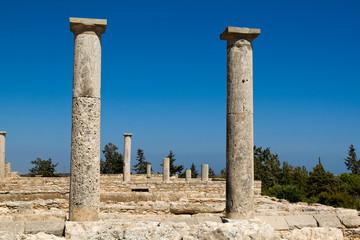 Ruins at the Sanctuary of Apollon Ylatis, Cyprus