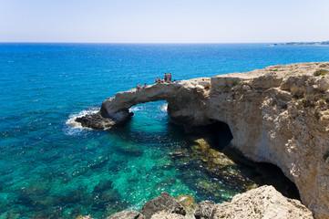 Fotobehang Cyprus Rock arch