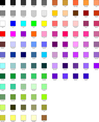 Palette color