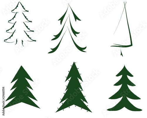 gr ne weihnachtsbaum weihnachten stockfotos und. Black Bedroom Furniture Sets. Home Design Ideas
