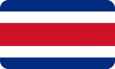 Drapeau-Costa-Rica-Coins-Arrondis
