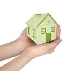 casa nelle mani