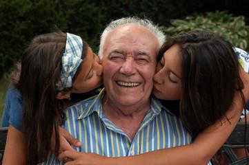 Kisses for Nonno