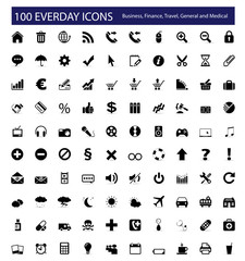 100 Everyday Icons