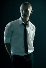 handsome guy in shirt