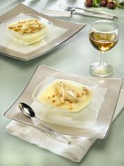 pudding au gingembre