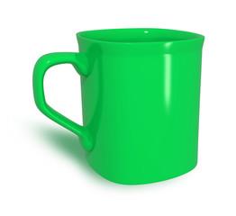 tazza caffè verde
