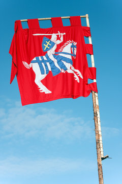 Lithuania Ancient  Flag - Coat of Arms of  Court Banner