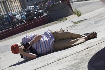Fotografo in azione