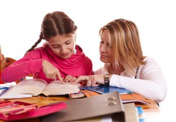 Lehrerin hilft