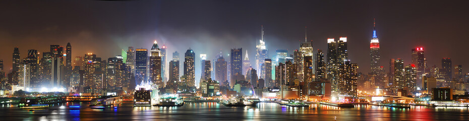 Manhattan New York City panorama