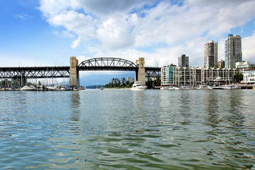 Burrard Bridge in Vancouver