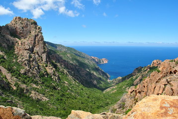 Calanques Piana - Corse