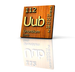 Search photos uub ununbium periodic table of elements wood board urtaz Choice Image