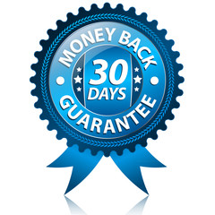 30 Days Money back label
