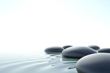 Fototapete - Zen water