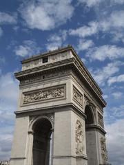 Arco del Triunfo en Paris