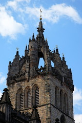 Detail of St Giles Cathedral. Edinburgh. Scotland. UK.