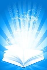 Magisches Buch (mit Clippfad)